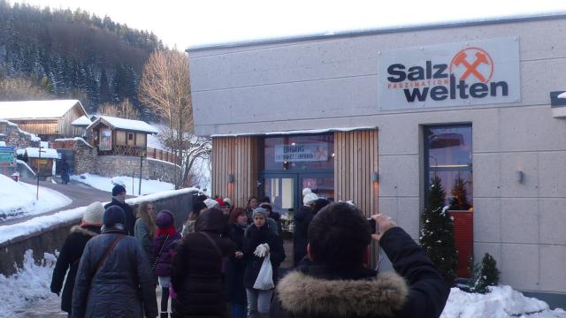 Posjet rudniku kamene soli kraj Salzburga_2012.