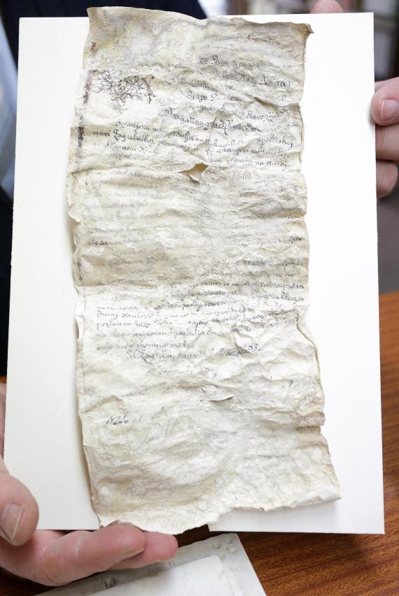 otkriven stari spis u Zg katedrali
