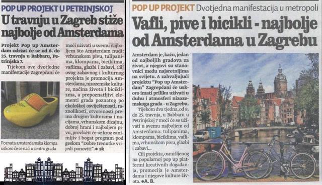 Dani Amsterdama u Zagrebu od 08.-25.04.2015.