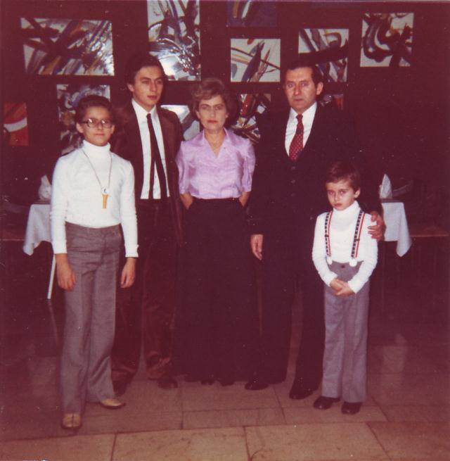 Obitelj Marte i Božidara Ručević