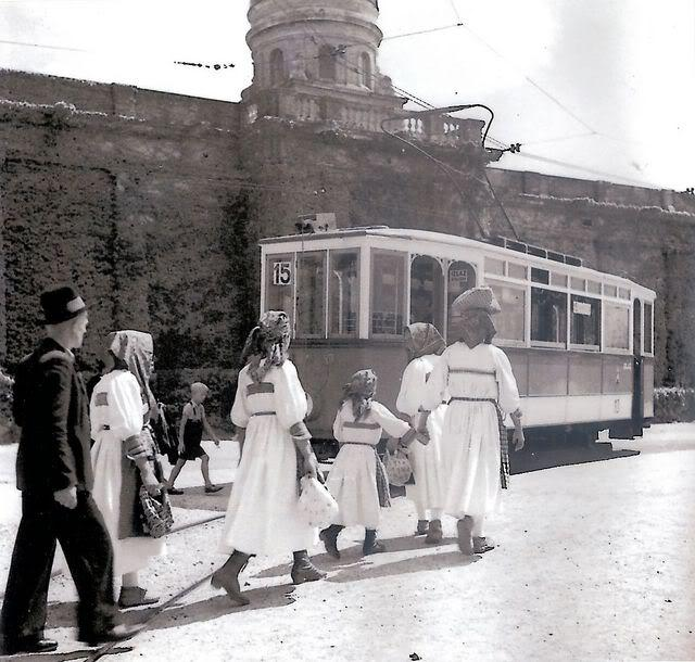 tramvaj na Mirogoju, Zagreb