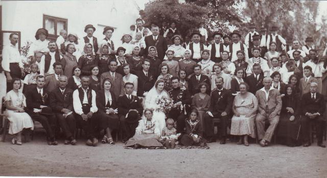 Na slici roditeljskog vjenčanja 1932. gotovo je sav rod Ručevića i Vidakovića toga doba te kumovi i rodbina iz obitelji Kuzmić i Martinović.