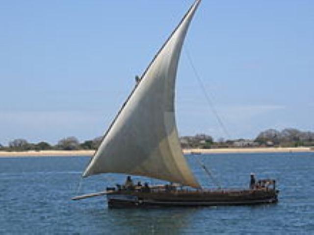 LATEEN SAIL FROM KENYA-LATINSKO IDRO U KENIJI