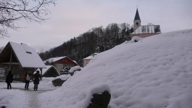 zadnji pogled u suton i pozdrav Salzburškom krajoliku