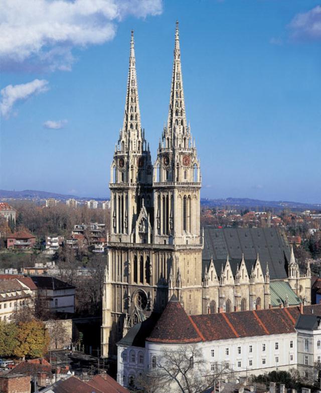 Katedrala sv. Stjepana u Zagrebu prije obnove