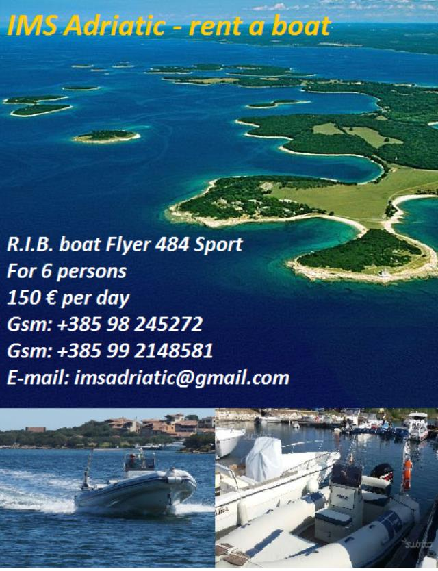 Exclusive R.I.B. boat Flyer 484 S