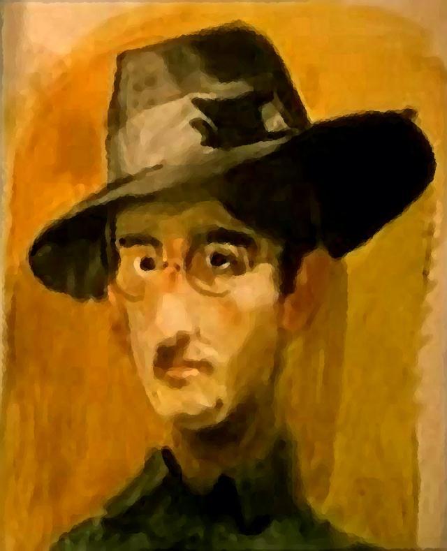 autoportret iz mladosti