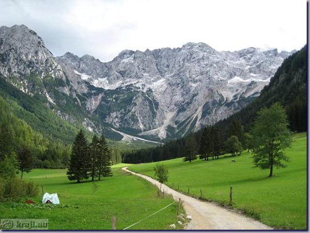 podno Kamniških alpi, Slovenija