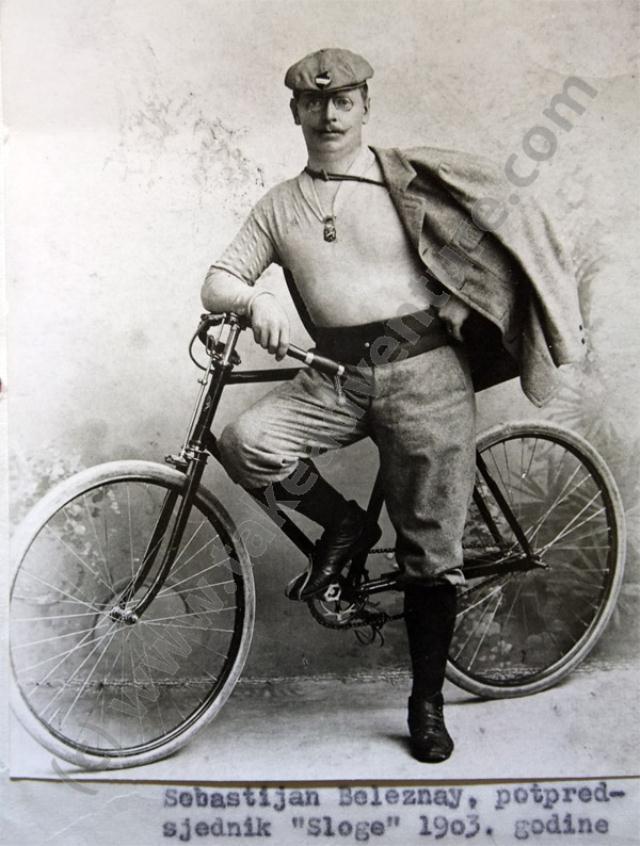 Zagreb, vozač 1903. godine