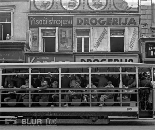 Zagrebački stari tramvaj ...