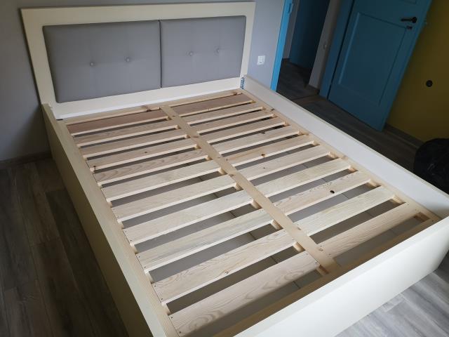 Tapecirani podizni krevet