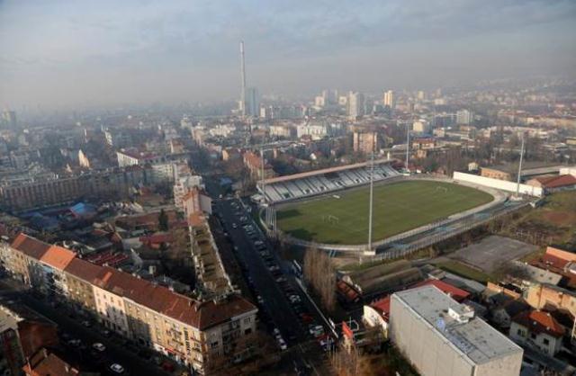 Nogometni stadion u Zg tzv. - Dinamov stadion -