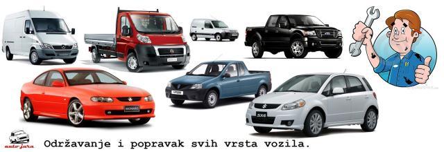 Odravanje i popravak osobnih dostavnih i lakih teretnih vozila
