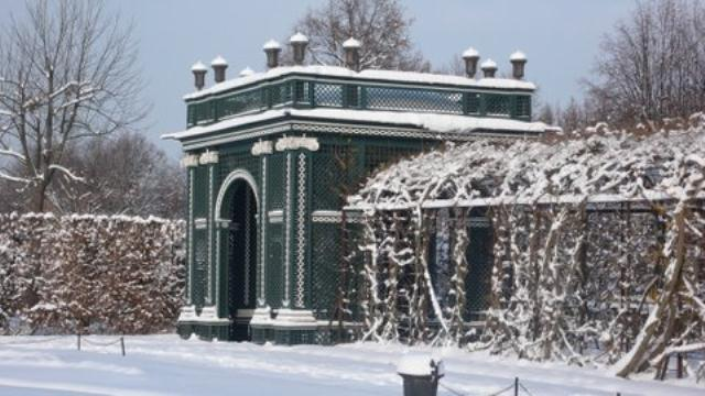 Dvorac Schonbrune - dio vrtnog parka