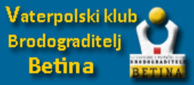 VATERPOLSKI KLUB BRODOGRADITELJ - BETINA