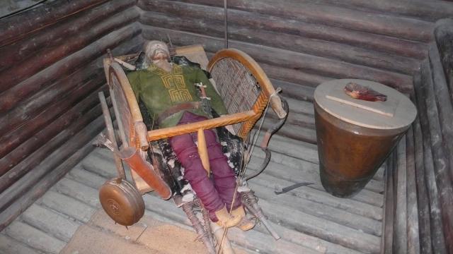 muzejski prikaz keltskih običaja i načina života - ovako su sahranjivali svoje najbliže