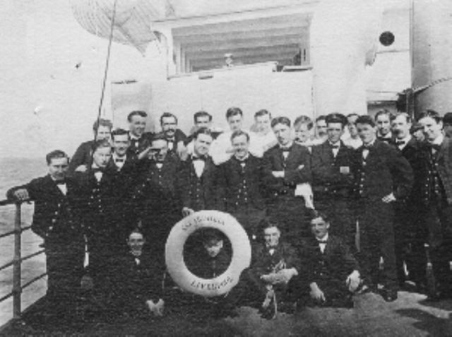Burtina Gašpar iz Betine na Karpatiji spašavao Titanika