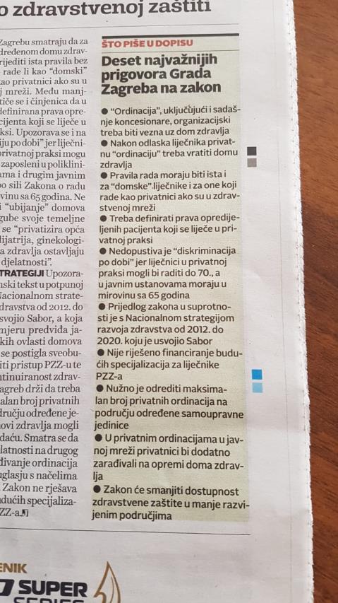 Grad Zagreb rekao NE ministru Kujundžiću