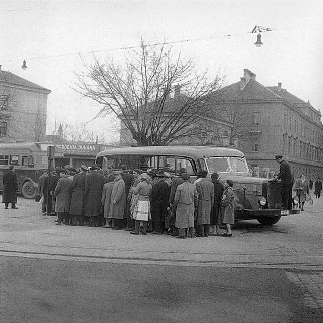 Zagreb, oko 1940. godine