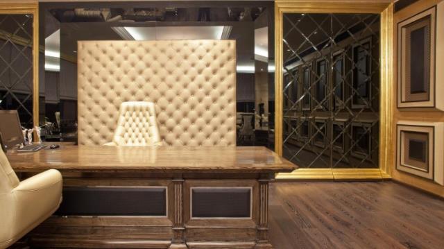 Primjer luksuzno opremljenog ureda