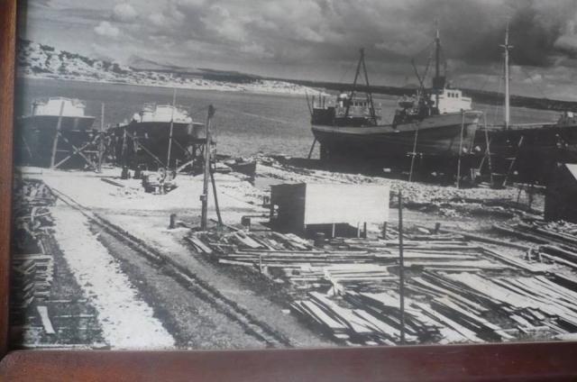 torpedni čamci na brodogradilištu