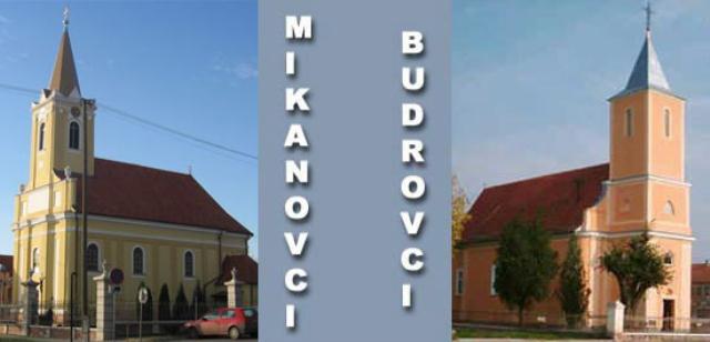 Crkve u Starim Mikanovcima i Budrovcima