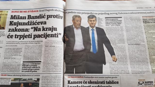 Grad Zagreb protiv novog prijedloga Zakona o zdravstvenoj zaštiti