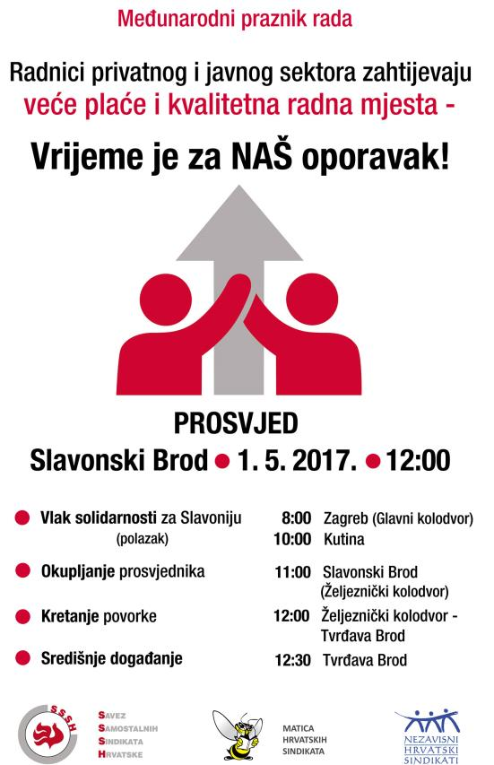 1. MAJ _prosvjed u Sl. Brodu_PLAKAT