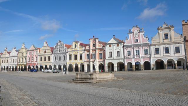 srednjovjekovni Telč_ grad pod zaštitom UNESCO-a