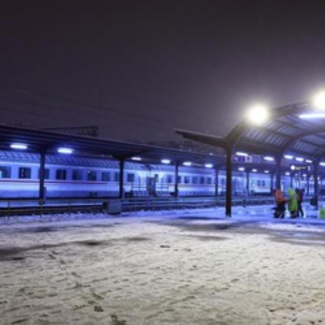 Zg željeznički kolodvor, zima 2014.