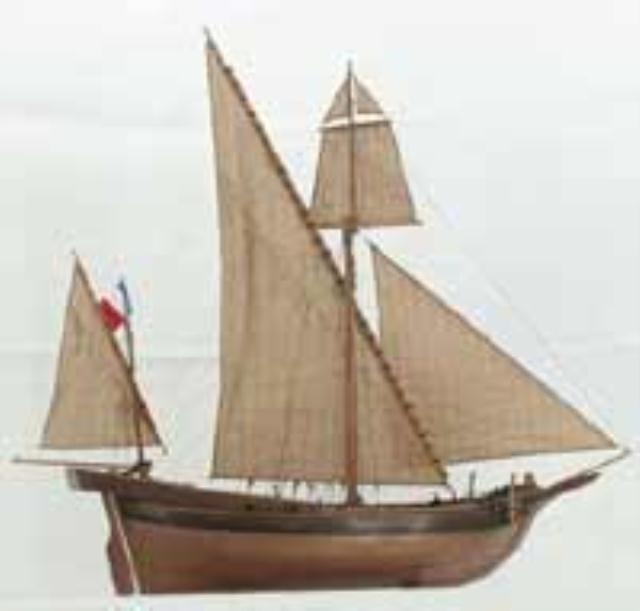 FRANCH SAILING SHIP