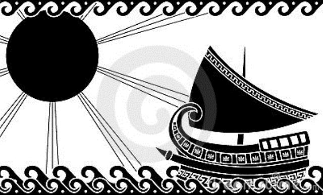 CLASIC GREEK SHIP