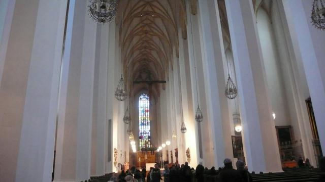Unutrašnjost jedne od crkvi u Munchenu