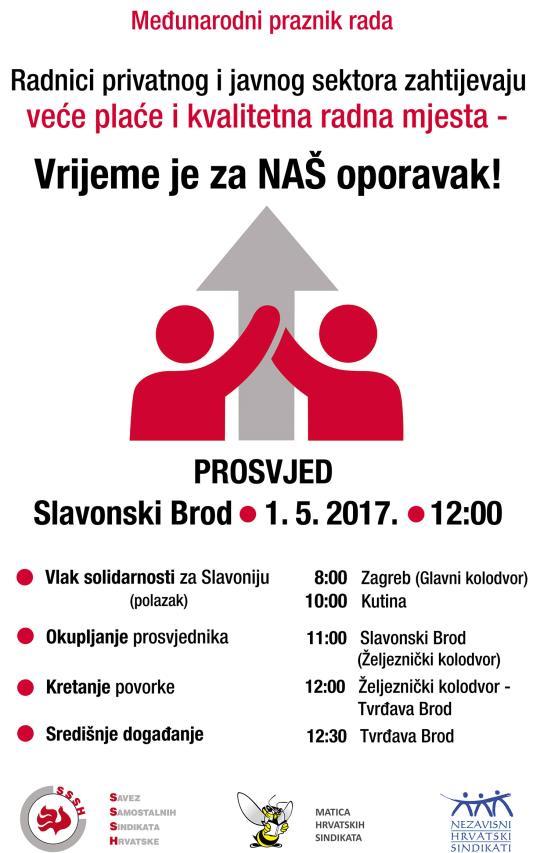 PLAKAT_prosvjed za 1. MAJ_Sl. Brod