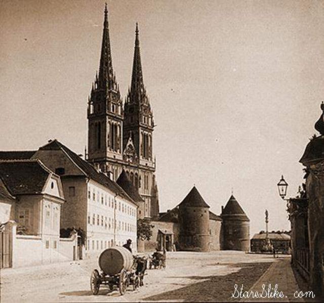 Zagrebačka katedrala, 19.st.