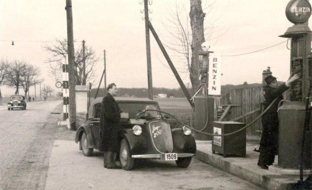 Zagreb - Maksimir 1940. godine