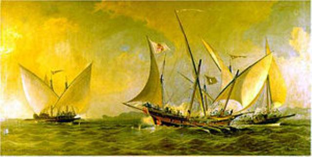 XEBEC-CHEBEC ALGERIAN GALIOTS 1738