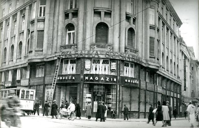 Zagreb - danas se tu nalazi HPB
