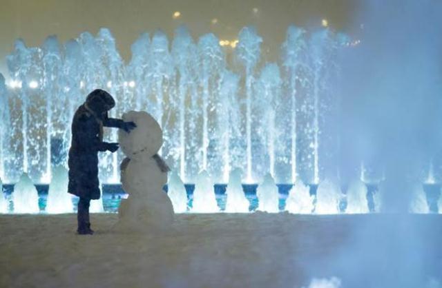 Zg u snijegu, siječanj 2013.