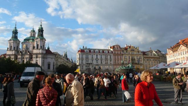Glavni trg u Pragu - Vaclavske namesti