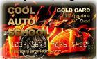 Tvoja cool auto school kartica, hrana i piće za vrijeme nastave