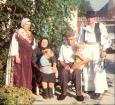 Margareta i Josip te unuci Antun i Julija u krilu bake Marije i dide Stjepana.