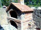 Pečenjara,kombinacija sljemenski kamen i stara cigla.Podnica ložišta šamot.Dimenzija ložišta 90x180.Cijena sa materijalom 14 000,00kn bez PDV-a