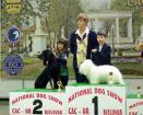 Junior Handling: Roja & Ulina on 2nd place!!!