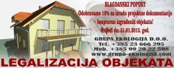Cijena legalizacije nekretnina